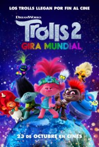 Trolls 2: Gira Mundial | Cartelera Ocine Aqua | Centro Comercial Aqua Multiespacio