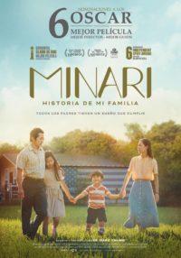 Minari, historia de mi familia   Cartelera Ocine Aqua Centro Comercial Aqua Multiespacio