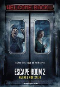Escape Room 2: Mueres por salir | Cartelera Ocine Aqua | Centro Comercial Aqua Multiespacio