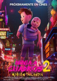 Ninja A Cuadros 2 – Misión Tailandia   Cartelera Ocine Aqua   Centro Comercial Aqua Multiespacio