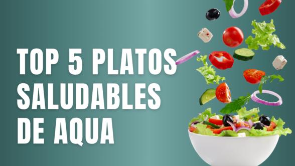 platos saludables Aqua Multiespacio