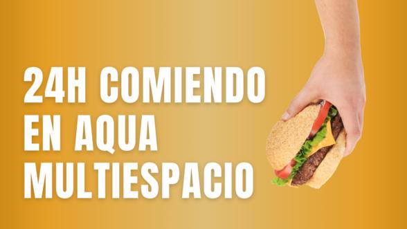 comer en Aqua Multiespacio