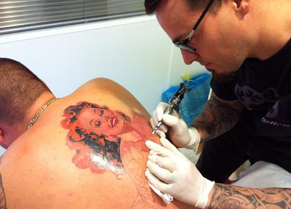 Cesar Lopez Tattoo