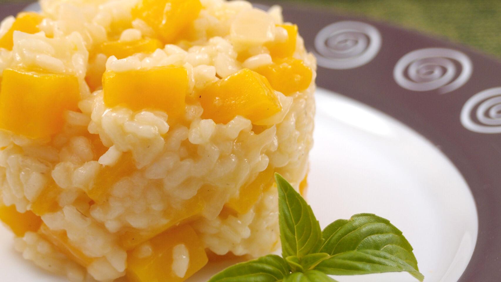 risotto calabaza