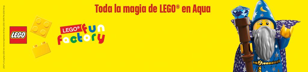 LEGO® Fun Factory Aqua | Centro Comercial Aqua Multiespacio