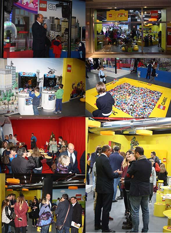 Pre inauguración Prensa LEGO