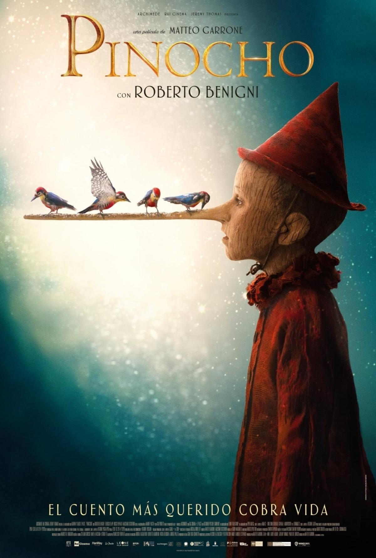Película Pinocho
